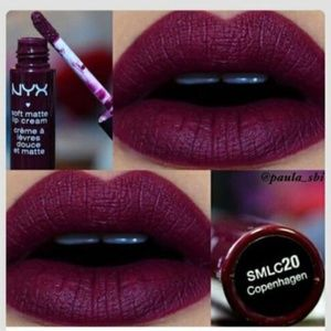 FULL SIZE NYX Soft Matte Lip Creme in Copenhagen